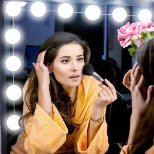 USB Powered Hollywood LED Mirror Light Makeup 5V Studio Bathroom Fill Bulb Cosmetic Dressing Table Lamp