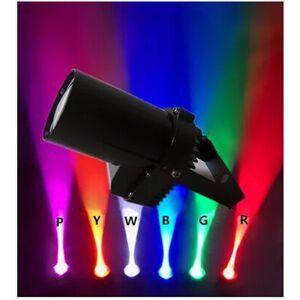 Beam New Pinspot Spotlights Beam Varied Spot Stage Beam Lighting Lamp 3W LED Spot Light Discotic Beam DJ Stage Party Show Light