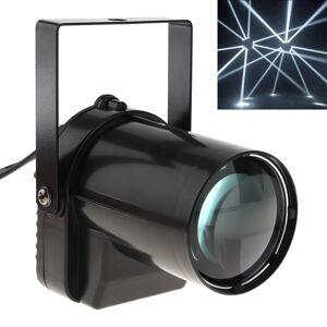 Beam 5W LED Spotlight White Beam Pin Light 200-220LM Stage Lighting Effect Lamp Suitable for DJ / Disco / KTV / Bar / Party