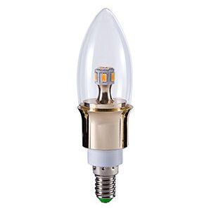 E14 5W Dimmbar LED pære, 2600K, 400lm Ø40X136mm