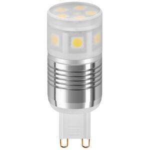 G9 3W Kald hvit LED-pære 220lm (6400K)