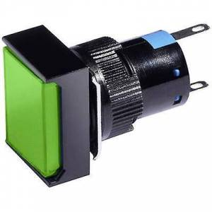 Barthelme LED-indikator lys grønn 230 V AC 58510313
