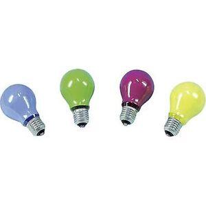 Barthelme lyspære 230 V E-27 40 W gul pære-figur innhold 1 PC (er)