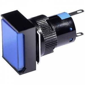 Barthelme LED-indikator lys blå 12 V DC/AC 58510114