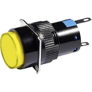 Barthelme LED-indikator lys gul 230 V AC 5850 0312