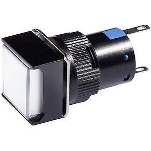 Barthelme LED-indikator lys hvit 12 V DC/AC 31 0115