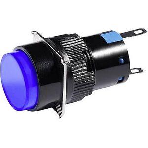 Barthelme LED-indikator lys blå 12 V DC/AC 5850 0114