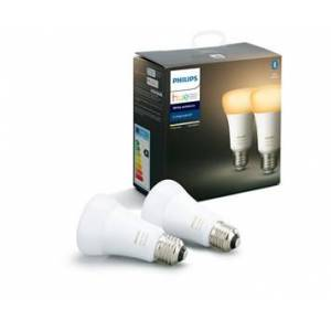 Philips HUE 8.5W A60 E27 EUR 2pack White Ambiance