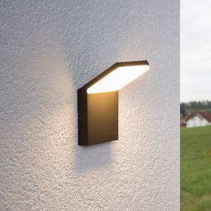 Lucande Waban - LED-udendørsvæglampe