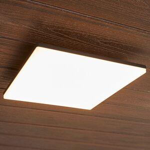 Lucande Kvadratisk LED-loftslampe Henni udendørs