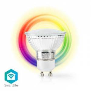 Nedis, Wi-Fi Smart LED-pære  Fuldfarve og Varm Hvid,...