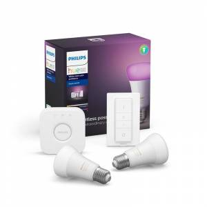 Philips Hue White And Color Ambiance Startsæt E27