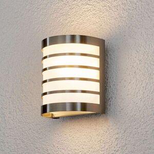 Lindby Vegghengt utelampe Calin av rustfritt stål