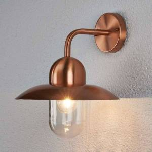 Lampenwelt.com Den vakre kobberlampen Camila for uteområdet
