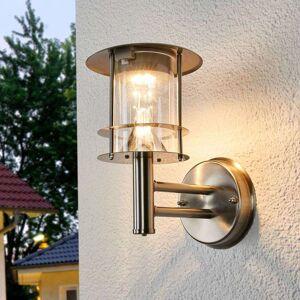 Lampenwelt.com Solcelledrevet, utendørs LED-vegglampe Sumaya