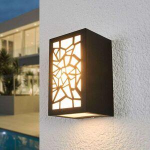Lampenwelt.com Mønstret LED-utevegglampe Semina