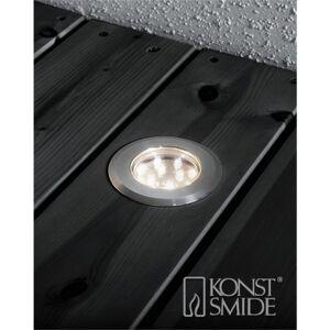 Konstsmide Terrassespot tillegg LED 3 varmh. spot m/kabel til 7721771 - 7761792