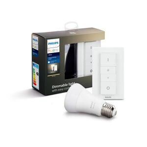 Philips Hue White E27 Kit Med Dimmer Switch