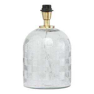 PR Home Betty Lampfot Glas 35 cm Klar