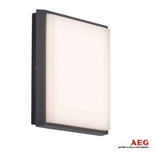 AEG Ljus LED-utomhusvägglampa Letan Square – 23W