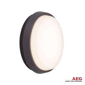 AEG Letan Round LED-utomhusvägglampa – 9W