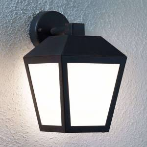 Lampenwelt.com LED-utomhusvägglampa Bendix