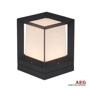 AEG Kantig LED-marklykta Kubus