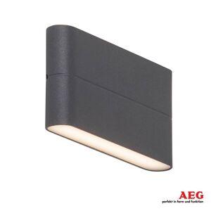 AEG Telesto – LED-utomhusvägglampa up and down