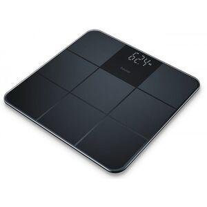 GS235 Glass Bathroom Scale Black 1 stk Badevægt