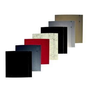 Thermex front til silent 100 design - Sølv