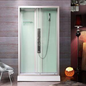 Bathlife Rum Dusjkabinett 1200x800 Mm, Alu Profiler/klart Glass