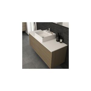 Dansani Marcato Servant, Solid Surface 405x420 mm, For Marcato benkeplate, Hvit