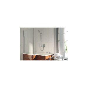 Duravit Dusjvegg 1460x990 mm, Krom/Klart glass