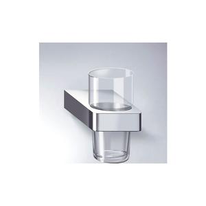 Dornbracht Lulu Glass/ -holder Krystallglass, Matt Platin Holder
