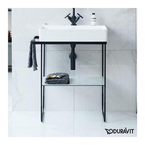 Duravit DuraSquare Metallkonsoll Til servant 255310, Sort Matt
