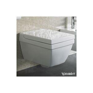 Duravit 2nd Floor Vegghengt toalett 350x540 mm, m/skjult feste, Wondergliss
