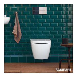 Duravit ME By Starck Compact toalett 370x480 mm. Hvit Matt, Wondergliss