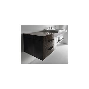 Duravit 2nd Floor Underskap m/2 skuffer 600x550 mm, Palisander, dekor