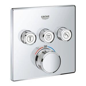 Grohe Grohtherm SmartControl Termostat Med 3 ventiler Krom