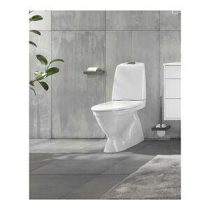 Gustavsberg Nautic 1510 Gulvst. toalett Med skjult P-lås og HygieneFlush