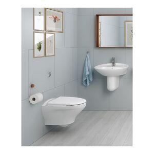 Gustavsberg Estetic 8330 Veggh. Toalett Med Myktlukkende Sete Og Lokk, Hvit