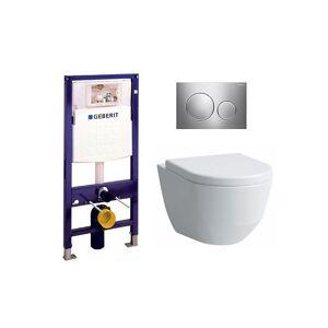 Laufen Pro-s Rimless Toalettpakke M/lcc Inkl. Sete/lokk, Sisterne Og Trykkplate.