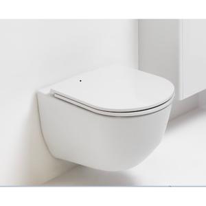 Laufen Pro Vegghengt Toalett 56x36 Cm, Sort
