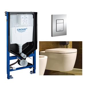 Duravit ME by Starck Compact Toalettpk. Inkl. sete/lokk, sisterne og trykkplate.
