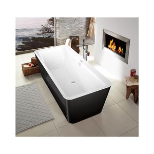 Villeroy & Boch V&B Squaro Edge 12 Frittstående badekar 1800x800 mm, Produsert i Quaryl