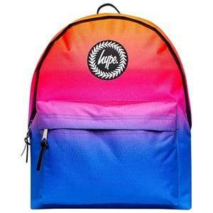 Hype Hi-Fi Fade Backpack Orange, Pink and Navy Backpacks