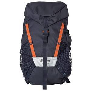 Bergans Lilletind Rolltop 18 Backpack Navy and Bright Magma Backpacks