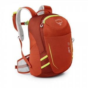 Osprey Jet 12 ryggsekk ungdom Strawberry Red