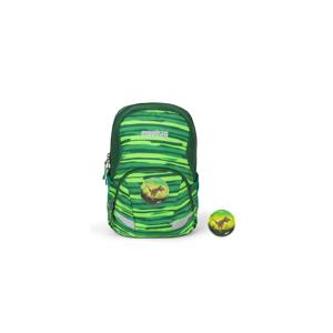 Ergobag Barnehagesekk Ergobag Ease L Jungle 10L, reflekser, flaskeholder, frontlomme