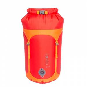 Exped Waterproof Telecompression Bag S Röd
